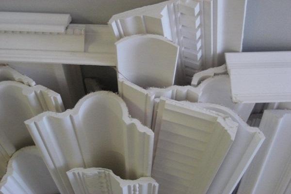Molduras de unicel interior y exterior molduras de yeso poliestireno - Molduras decorativas pared ...