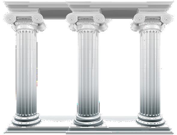 columnas de unicel